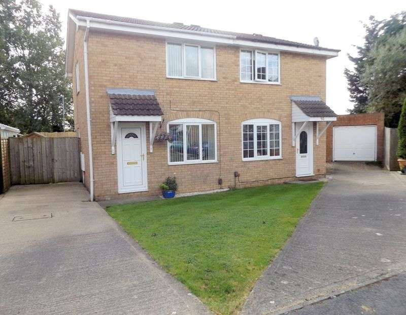 2 Bedrooms Semi Detached House for sale in Eskdale Close, Yarm