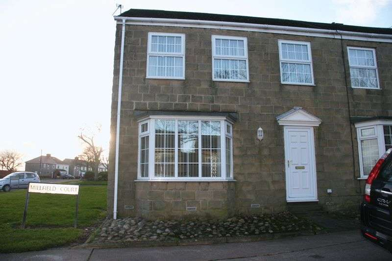 3 Bedrooms Terraced House for sale in 1 Millfield Court Bedlington