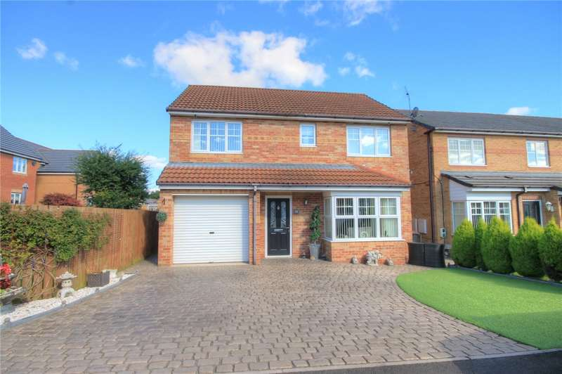 4 Bedrooms Detached House for sale in Cloverhill Court, Stanley, Durham, DH9