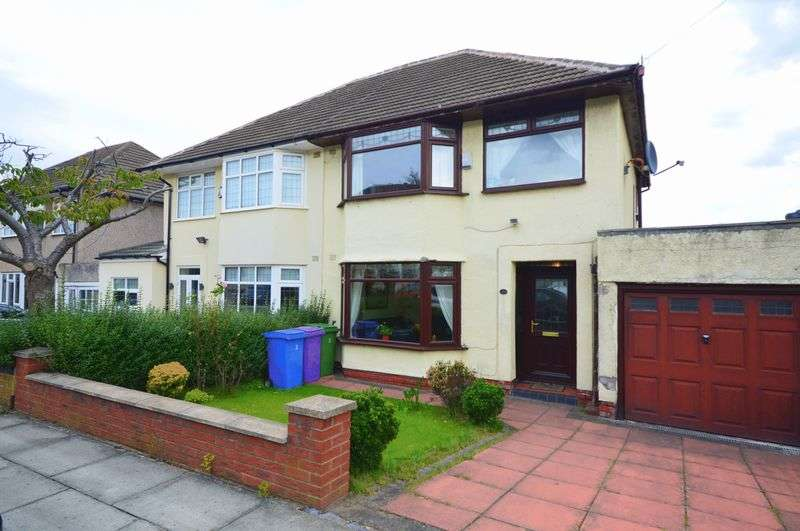 3 Bedrooms Semi Detached House for sale in South Barcombe Road, Childwall