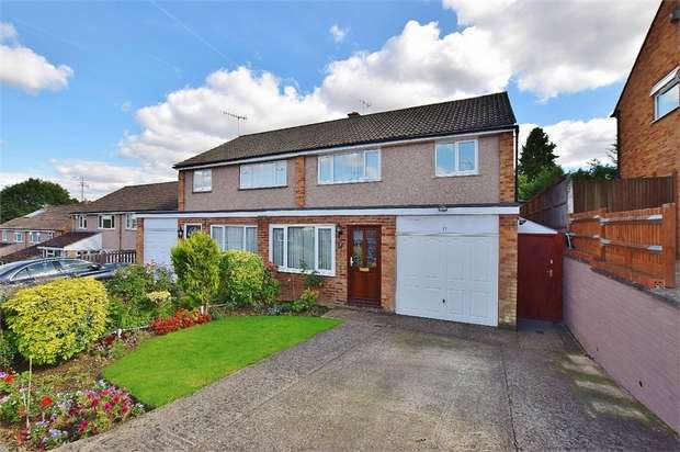 3 Bedrooms Semi Detached House for sale in Homefield Road, BUSHEY VILLAGE, Hertfordshire