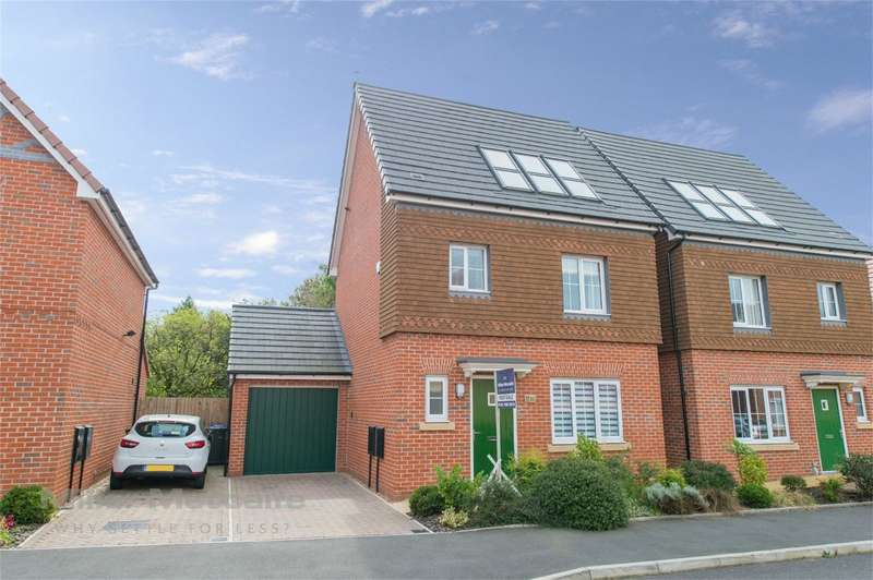 4 Bedrooms Detached House for sale in Shuttle Drive, Heywood, Lancashire