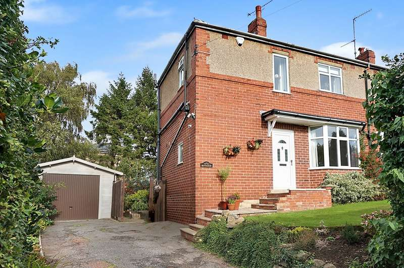 3 Bedrooms Semi Detached House for sale in Bankside, Keswick Lane, Bardsey, LS17