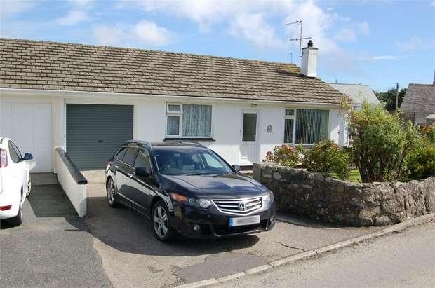 3 Bedrooms Semi Detached Bungalow for sale in Bodinnar Lane, Newbridge, Penzance, Cornwall