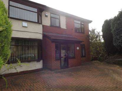 3 Bedrooms Semi Detached House for sale in Moss Bank Way, Bolton, Greater Manchester, Lancs