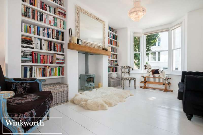 4 Bedrooms Terraced House for sale in Upper North Street, Brighton, East Sussex, BN1