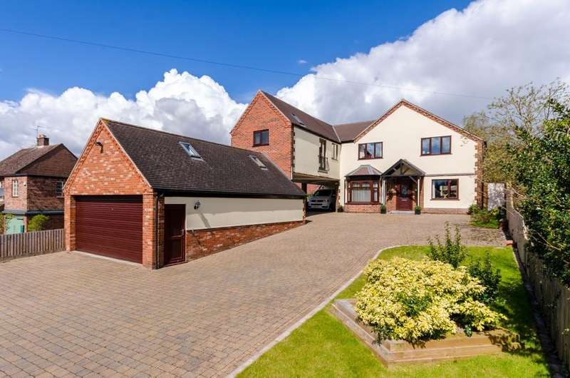 5 Bedrooms Detached House for sale in Harrowby Lane, Grantham, Lincolnshire, NG31