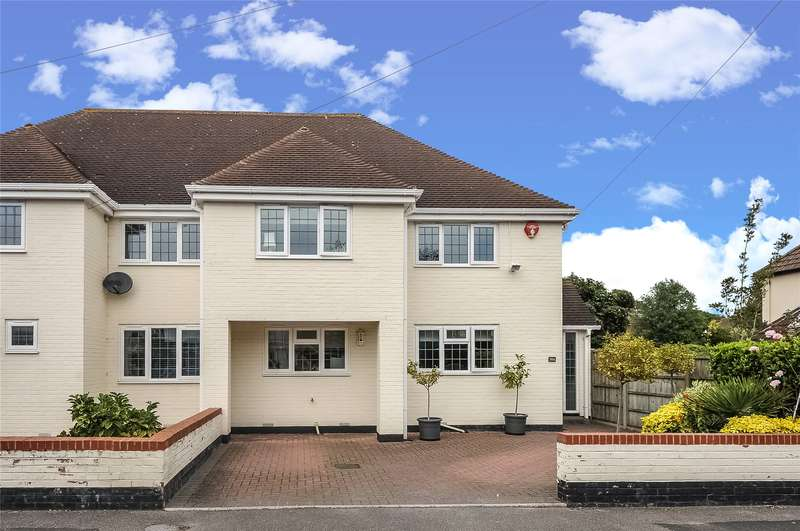 3 Bedrooms Semi Detached House for sale in Stanley Road, Lymington, Hampshire, SO41