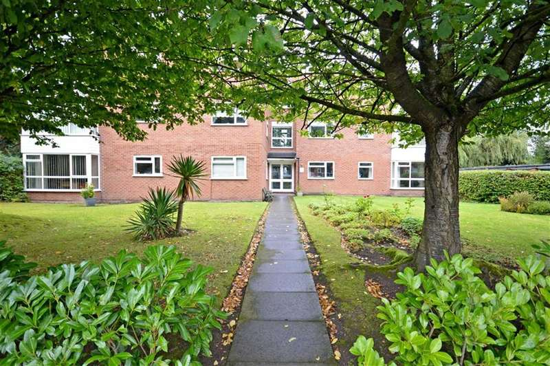 2 Bedrooms Flat for sale in ROWAN LODGE, Dairyground Road, Bramhall, Stockport, Cheshire, SK7