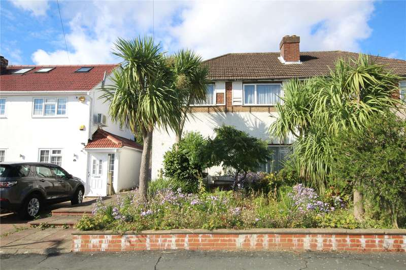 3 Bedrooms Semi Detached House for sale in Sandymount Avenue, Stanmore, HA7