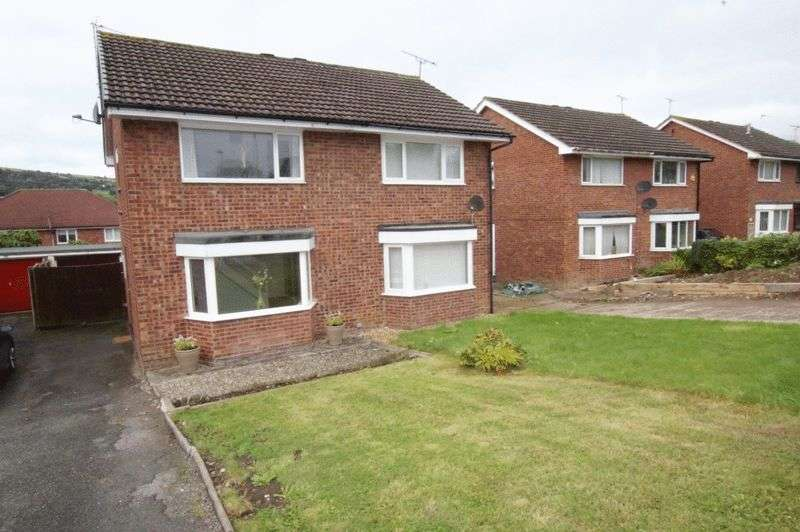 2 Bedrooms Semi Detached House for sale in 13 Mountain view, Hope, Wrexham