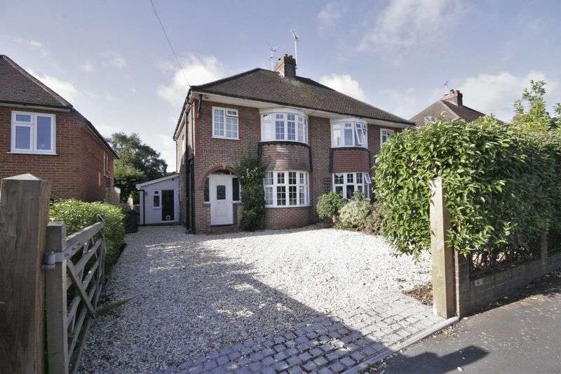 3 Bedrooms Semi Detached House for sale in South Avenue, Farnham