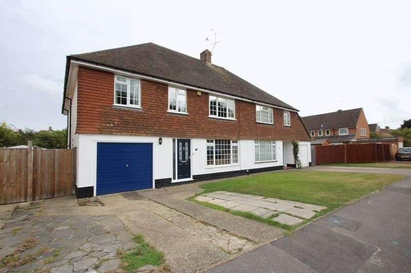 5 Bedrooms Semi Detached House for sale in Elmshurst Gardens, Tonbridge