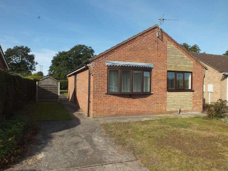 2 Bedrooms Detached Bungalow for sale in Mark Avenue, Horncastle