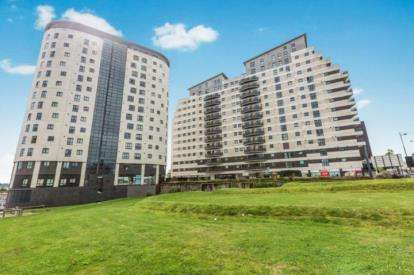 2 Bedrooms Flat for sale in Masshouse Plaza, Birmingham, West Midlands