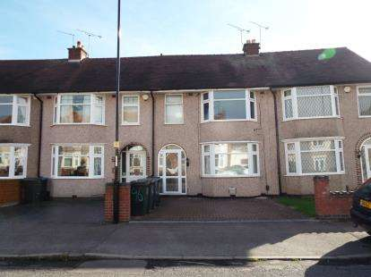 3 Bedrooms Terraced House for sale in Dickens Road, Keresley, Coventry