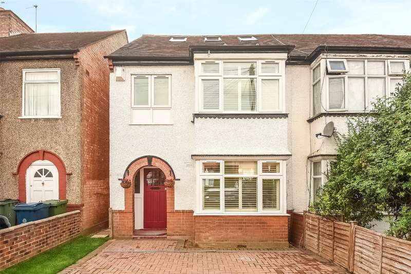 4 Bedrooms Semi Detached House for sale in Parkfield Road, Harrow, Middlesex, HA2