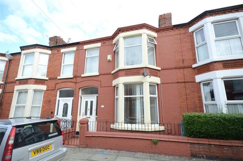 3 Bedrooms Terraced House for sale in Karslake Road, Mossly Hill, Liverpool, L18