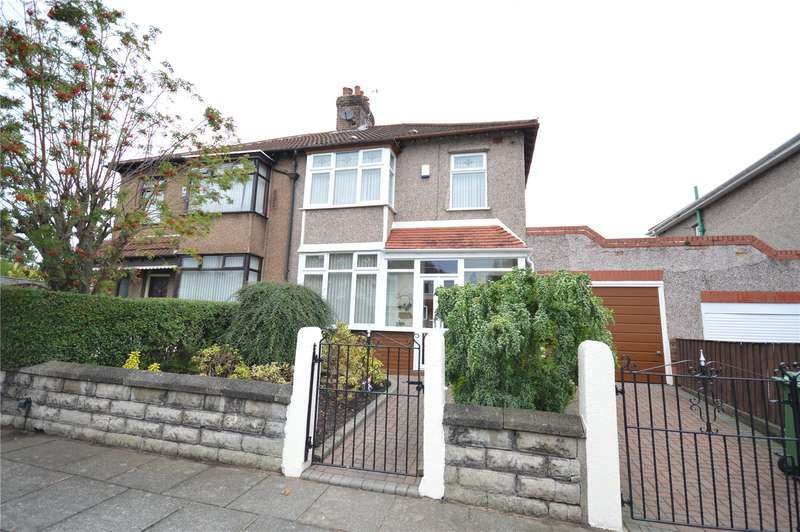 3 Bedrooms Semi Detached House for sale in Benmore Road, Mossley Hill, Liverpool, L18