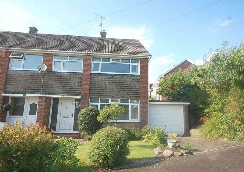 3 Bedrooms Semi Detached House for sale in 27 Alexander Road, Rhyddings, Neath, SA10 8EF