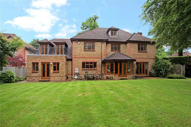 5 Bedrooms Detached House for sale in Wyldewood, Hancocks Mount, Sunningdale, Berkshire, SL5