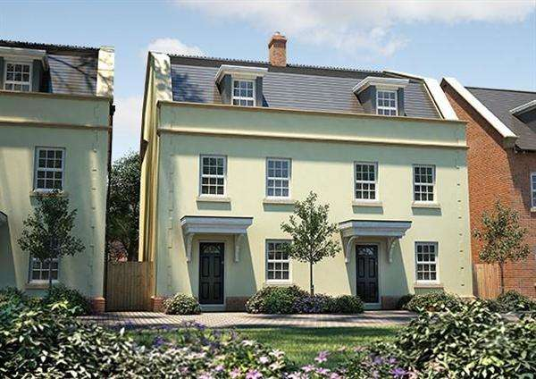 4 Bedrooms Semi Detached House for sale in The Doveridge, Seabrook Orchard, Topsham