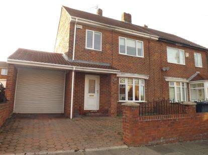 3 Bedrooms Semi Detached House for sale in Westmorland Road, Marsden, South Shields, Tyne and Wear, NE34