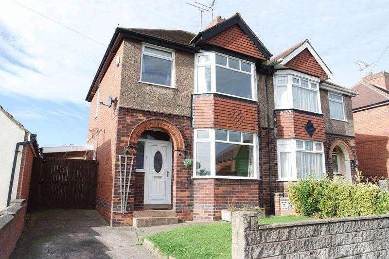 3 Bedrooms Semi Detached House for sale in Cator Road, Pleasley, Mansfield
