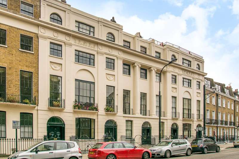 2 Bedrooms Flat for sale in Mecklenburgh Square, Bloomsbury, WC1N