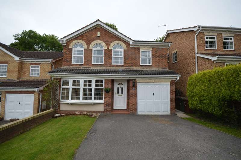 4 Bedrooms Detached House for sale in Geary Drive, Wakefield
