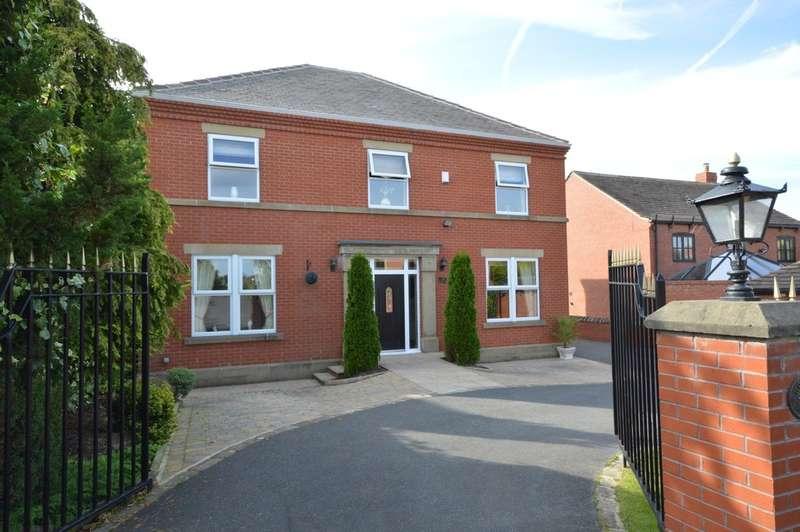 4 Bedrooms Detached House for sale in The Old Woodyard, Stocksmoor Road, Midgley
