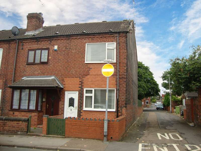 2 Bedrooms End Of Terrace House for sale in Cemetery Road, Normanton