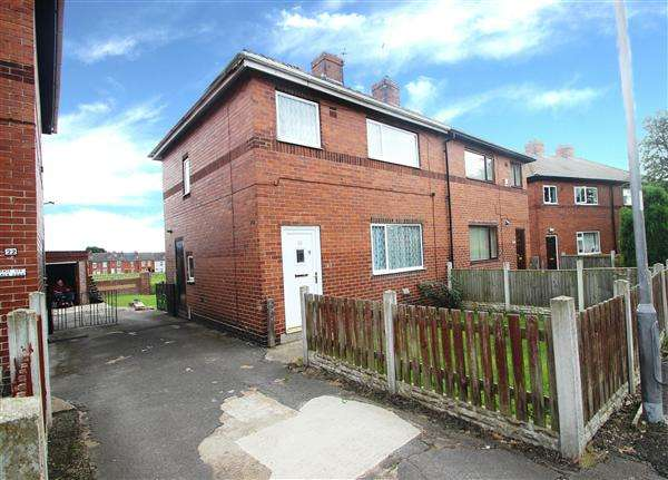 3 Bedrooms Semi Detached House for sale in Holgate Crescent, Hemsworth