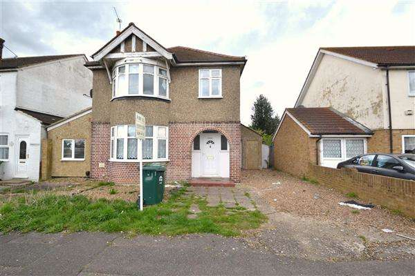 3 Bedrooms Detached House for sale in Brecknock, Stanwell New Road, Staines