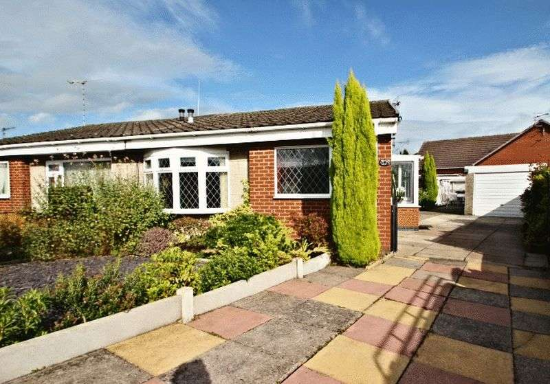 2 Bedrooms Semi Detached Bungalow for sale in Derwent Crescent, Stoke-On-Trent