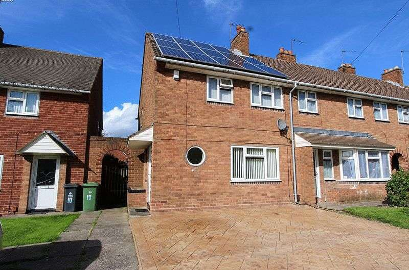 2 Bedrooms Terraced House for sale in Roche Road, Bloxwich Walsall