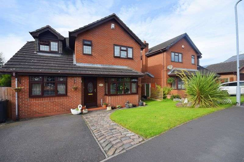 4 Bedrooms Detached House for sale in Coleridge Drive, Cheadle
