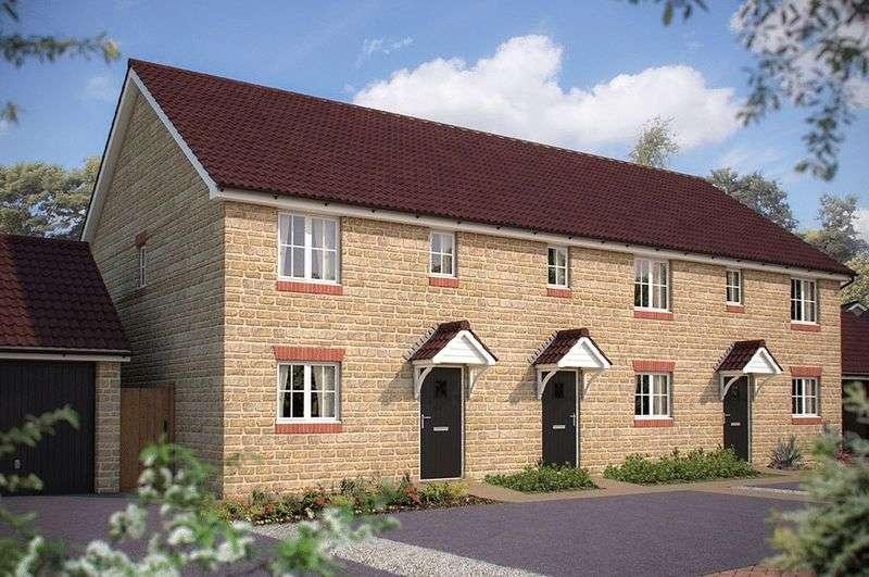 3 Bedrooms Terraced House for sale in The Homelands, Bishops Cleeve, Gotherington Lane, Cheltenham, GL52 8EN