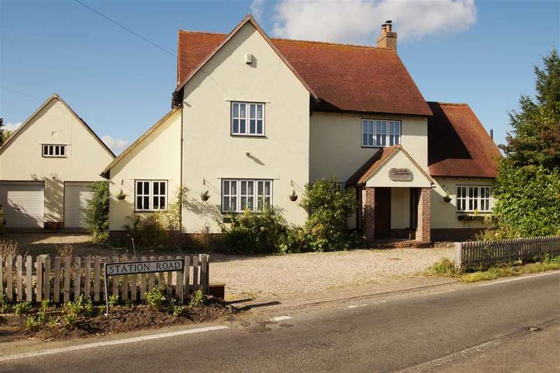 4 Bedrooms Detached House for sale in Beerhouse Cottage, Station Road, Bradfield, Manningtree