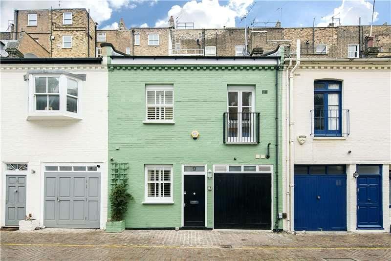 3 Bedrooms Mews House for sale in Petersham Mews, London, SW7