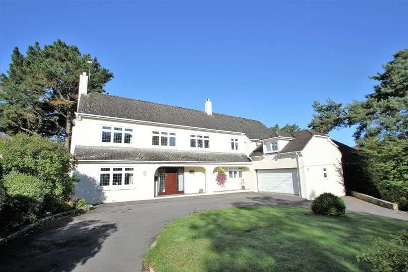 4 Bedrooms Detached House for sale in Treetops, Aldridge Road, Ferndown