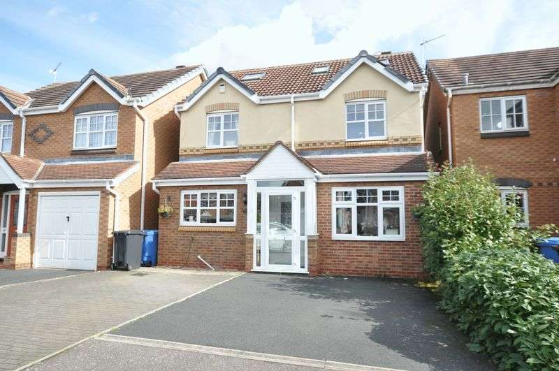 5 Bedrooms Detached House for sale in MARLOW DRIVE, BRANSTON