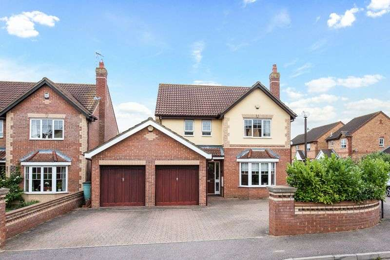 4 Bedrooms Detached House for sale in Coldeaton Lane, Emerson Valley, Milton Keynes