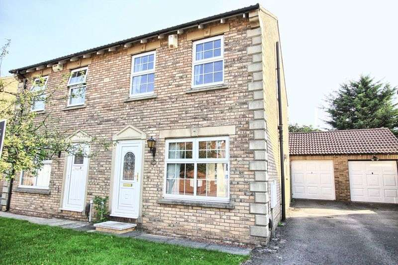 3 Bedrooms Semi Detached House for sale in Farne Court, Ingleby Barwick