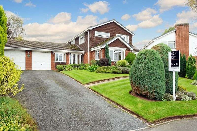 4 Bedrooms Detached House for sale in The Evergreens, Sheriffhales, Nr. Shifnal, Shropshire.
