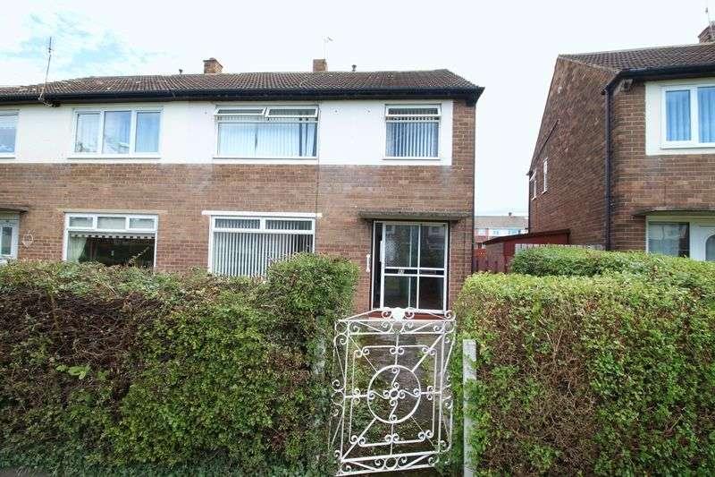3 Bedrooms Semi Detached House for sale in Lilac Walk, Hebburn