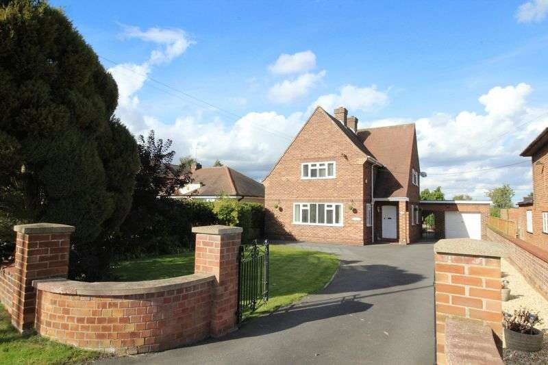 4 Bedrooms Detached House for sale in Lincoln Road, Branston, Lincoln