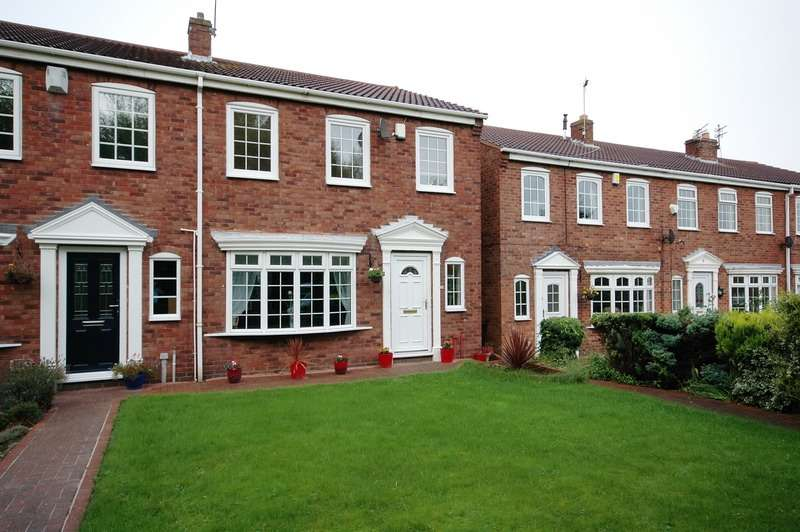 3 Bedrooms End Of Terrace House for sale in St. Josephs Court, Hebburn, County Durham, NE31