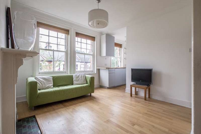 2 Bedrooms Flat for sale in Hackford Road, London, London, SW9