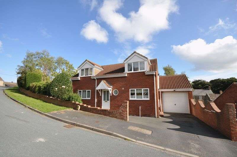3 Bedrooms Detached House for sale in Bank Close, Sleights